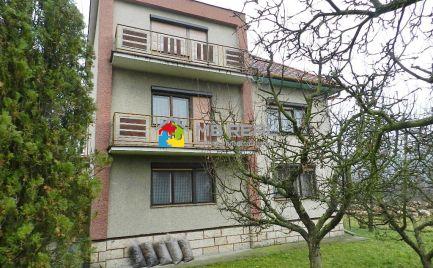 Rodinný dom, Šášovské Podhradie, pozemok 1 871 m2 s možnosťou ďalšej výstavby