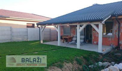 PAŇA RD novostavba 93m2 hosťovský dom 48m2 pozemok 1058m2
