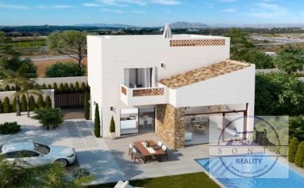 Vila v Benijofar, oblasť Alicante na pobreží Costa Blanca