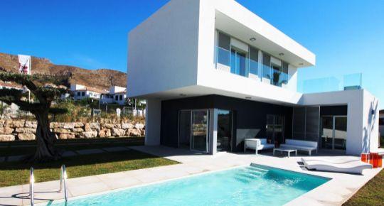 Predaj 3 izbové rodinné vily Essential house 590 m2 Benidorm Španielsko 18104