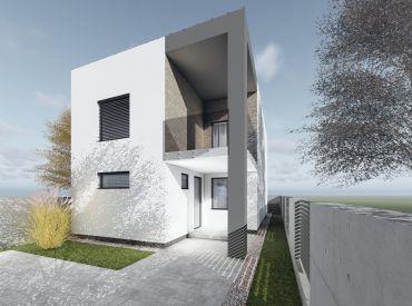 JJ Reality - 4 izb. novostavba rodinného domu s 3 parkovacími státiami /MODRANKA/