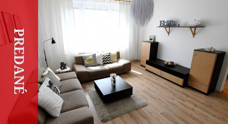 PREDANÝ: Priestranný 5i byt s pracovňou, dvoma šatníkmi a jedálňou po rekonštrukcii - Žilina - Platanova