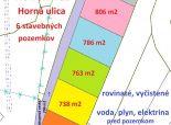 Na predaj 6 pozemkov, nová výstavba v obci Komjatice