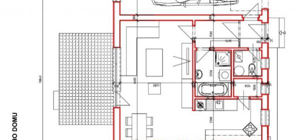 Kúty - Novostavba 3. izb. rodinného domu s garážou