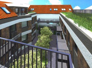 JJ Reality - Projekt exkluzívneho bytového domu / 17 bytov / v centre Trnavy