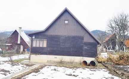 Záhradná chata 45 m2 v lokalite Martin - Stráne, pozemok 383 m2