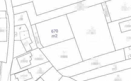 Exkluzívne na predaj stavebný pozemok o výmere 670 m2 v meste Veľký Šariš