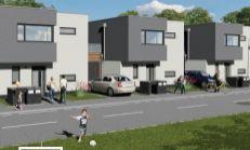 PREDAJ, Novostavba RD - pozemok za 40€/m2 -  projekt Majer Beckovská Vieska Exkluzívne iba u nás!