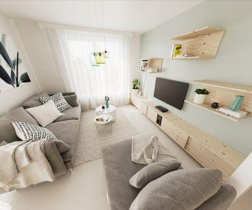 3 izbový byt v novostavbe blízko centra mesta Ružomberok