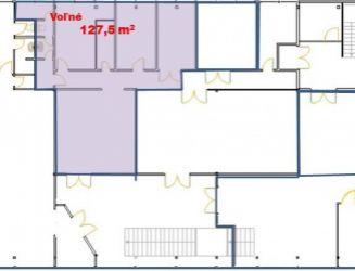 Prenájom Obchodné priestory 127,5 m2 Žilina