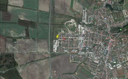 Investičný pozemok na výstavbu skladov, výrobnej haly 10000 m2, Stupava