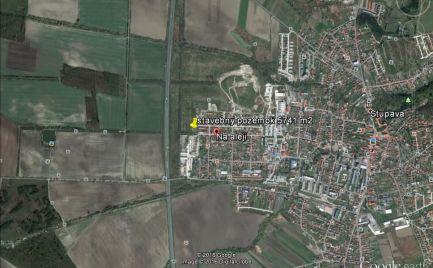 Investičný pozemok na výstavbu rodinných domov 5471 m2, Stupava