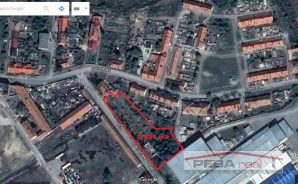 Predaj pozemku na bytovú výstavbu 3 695 m2 v Sládkovičove