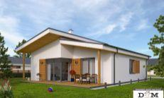 PREDAJ - NOVOSTAVBA Borčice - tri domy v tichom prostredí s krásnym výhľadom