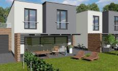 PREDAJ, Novostavba RD - pozemok už za 40€/m2!!  Projekt Majer, Beckovská Vieska