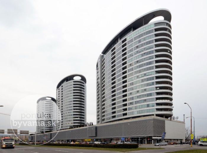PREDANÉ - BAJKALSKÁ, 2-i byt, 68 m2 – novostavba, loggia, PANORAMATICKÝ VÝHĽAD na mesto, klimatizácia, GARÁŽOVÉ STÁTIE, širšie centrum BA