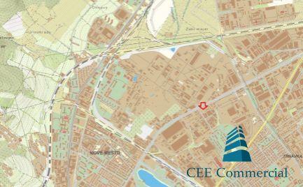 Pozemok na predaj, BA III, Nové mesto, obchod/logistika