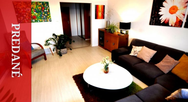 PREDANÉ: Vkusne zrekonštruovaný priestranný 3i byt na sídlisku Solinky