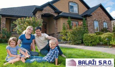 BOŠANY pre konkrétneho klienta hľadáme 3 a viac izbový rodinný dom