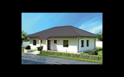 Novostavba 4. -izbový bungalov, pozemok 850 m2