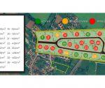 Stavebné pozemky v Ivanovciach, rôzne výmery: od 524 m2  do 903 m2 , všetky IS / nová lokalita