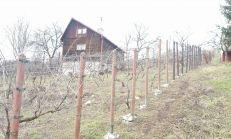 PREDAJ - rekreačná chatka a vinica na slnečnom pozemku
