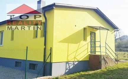 Polyfunkčná budova 450m2 po rekonštrukcii, pozemok 1000 m2 v Martin - Vrútky