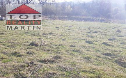 Pozemok 4000 m2 vhodný na komerčné účely, IS, v lokalite Martin - Vrútky