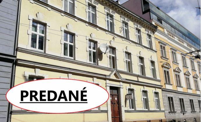 Exkluzívne iba u nás! 3 izbový byt v Starom Meste, Dunajská ul. vhodný aj na investíciu