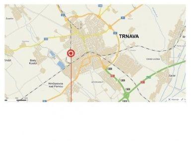 MAXFIN REAL - na prenájom pozemok s unimobunkou v Trnave.