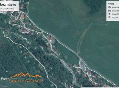 Predaj  veľkého slnečného pozemku v Tatrách