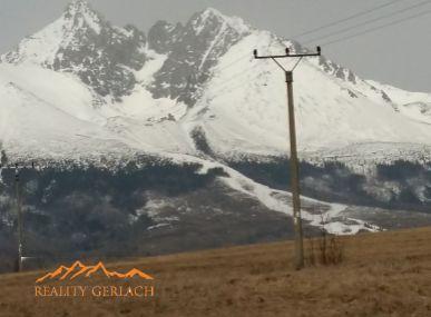 Predaj dvoch slnečných pozemkov v Tatrách