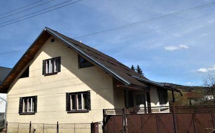 Dom s veľkým slnečným pozemkom