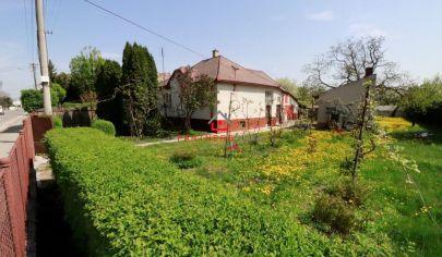 Exkluzívny pozemok, so starším rodinným domom 2186m, super lokalita, predaj, Košice - Juh, Barca