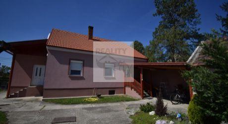 4 - izbový rodinný dom 102 m2, pozemok 1460 m2 -  Hegyeshalom