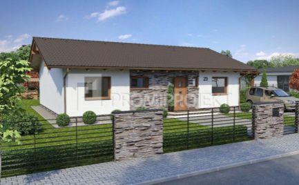 Novostavba - štvorizbový rodinný dom v tichej lokalite