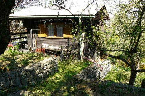 Záhradná chatka vo Višňovom