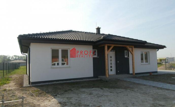 Predaj 4-izbová novostavba bungalovu v novovybudovanej časti obce Dolný Bar