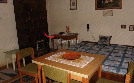 GEMINIBROKER Vám ponúka na predaj rodinný dom v obci Telkibánya