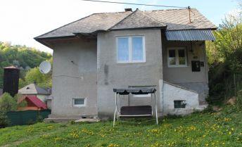 Predám dvojizbový rodinný dom v obci Muránska Zdychava