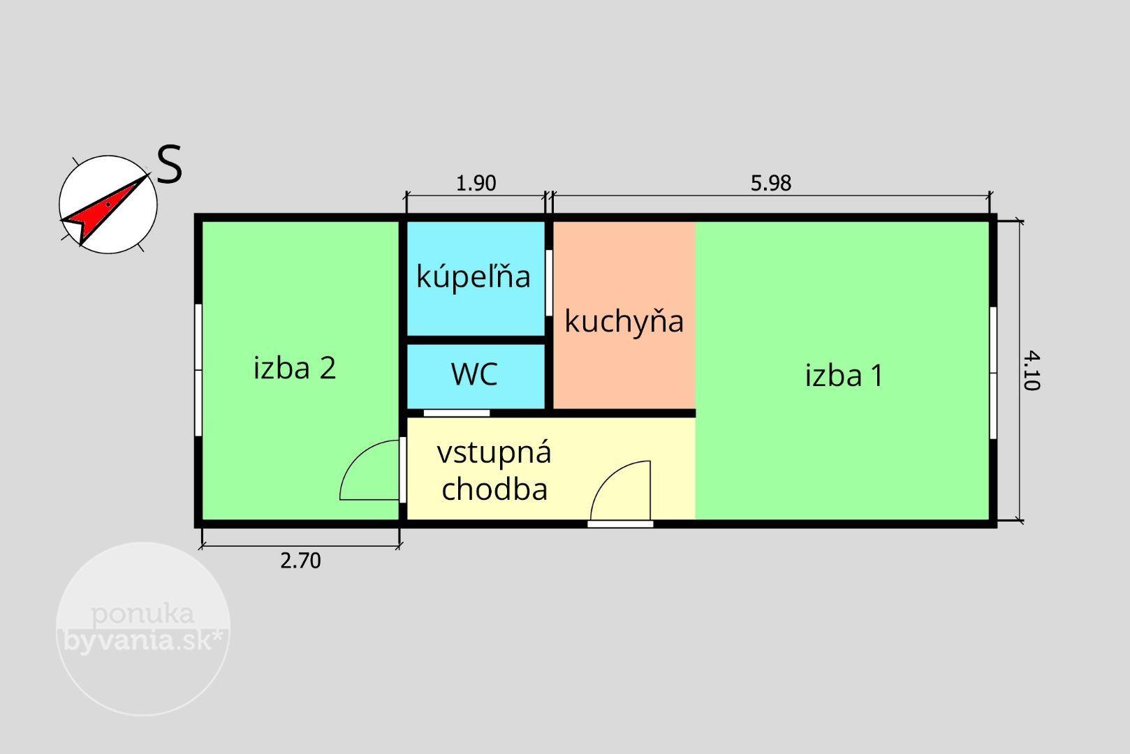 ponukabyvania.sk_Studenohorská_2-izbový-byt_KALISKÝ