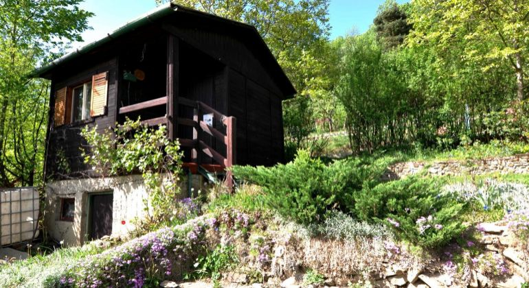 Záhradná chatka na Dubni pri Žiline