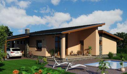 NÍZKOENERGETICKÝ 4 izbový dom, užitková plocha 120m2, zastavana 168 m2, Žarnovica