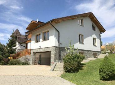3D obhliadka - Nadštandardný rodinný dom v Tatrách, Tatranská Štrba