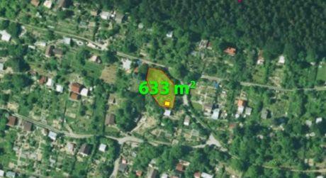 Na predaj záhrada s chatkou, 633 m2, Žilina - Dubeň