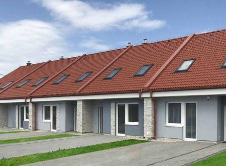 Nové domy na Lodenici v Piešťanoch
