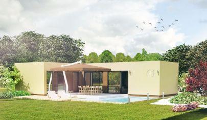 NÍZKOENERGETICKÝ 2 izb. dom, 42 m2 zastavaná plocha, dobrá cena, Dolný Kubín