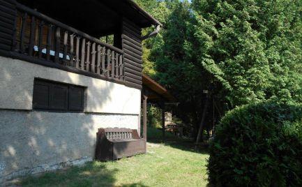 Rekreačná chata Červená Voda, okres Sabinov v krásnom prostredí lesa