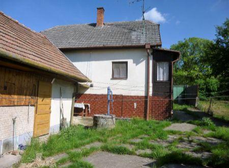 Rodinný dom Horné Obdokovce