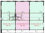 Od 50 m2 do 360 m2 NEBYTOVÝ PRIESTOR - novostavba V SENCI v logistickom centre.